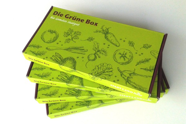Die Grüne Box im Abo - 4 mal bestes Bio-Saatgut/Bio-Gemüsesamen pro Jahr