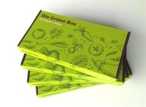 Die Grüne Box im Abo - 4 mal beste Gemüsesamen pro Jahr