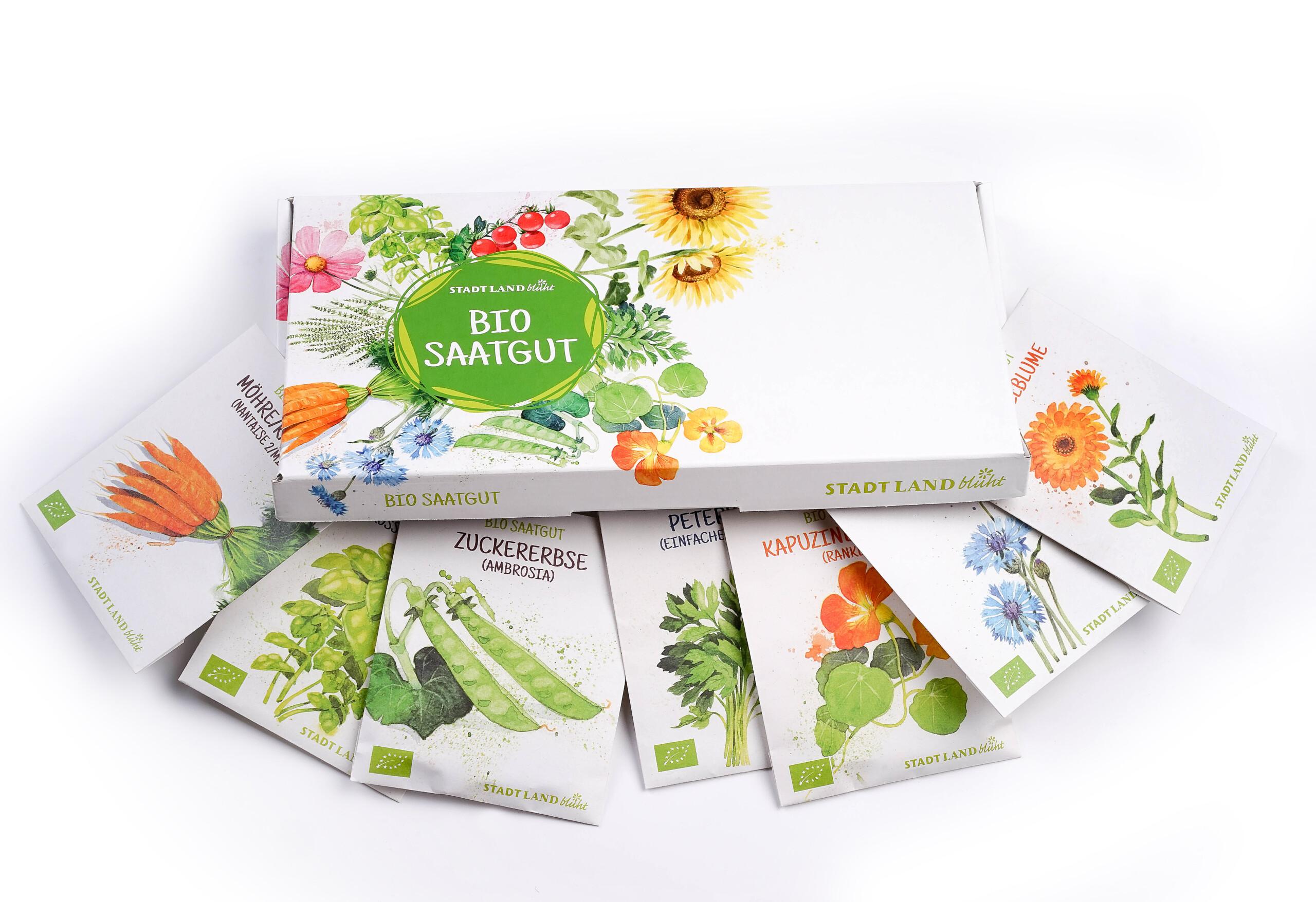 Ökologisches Saatgut im Abo, die Grüne Box