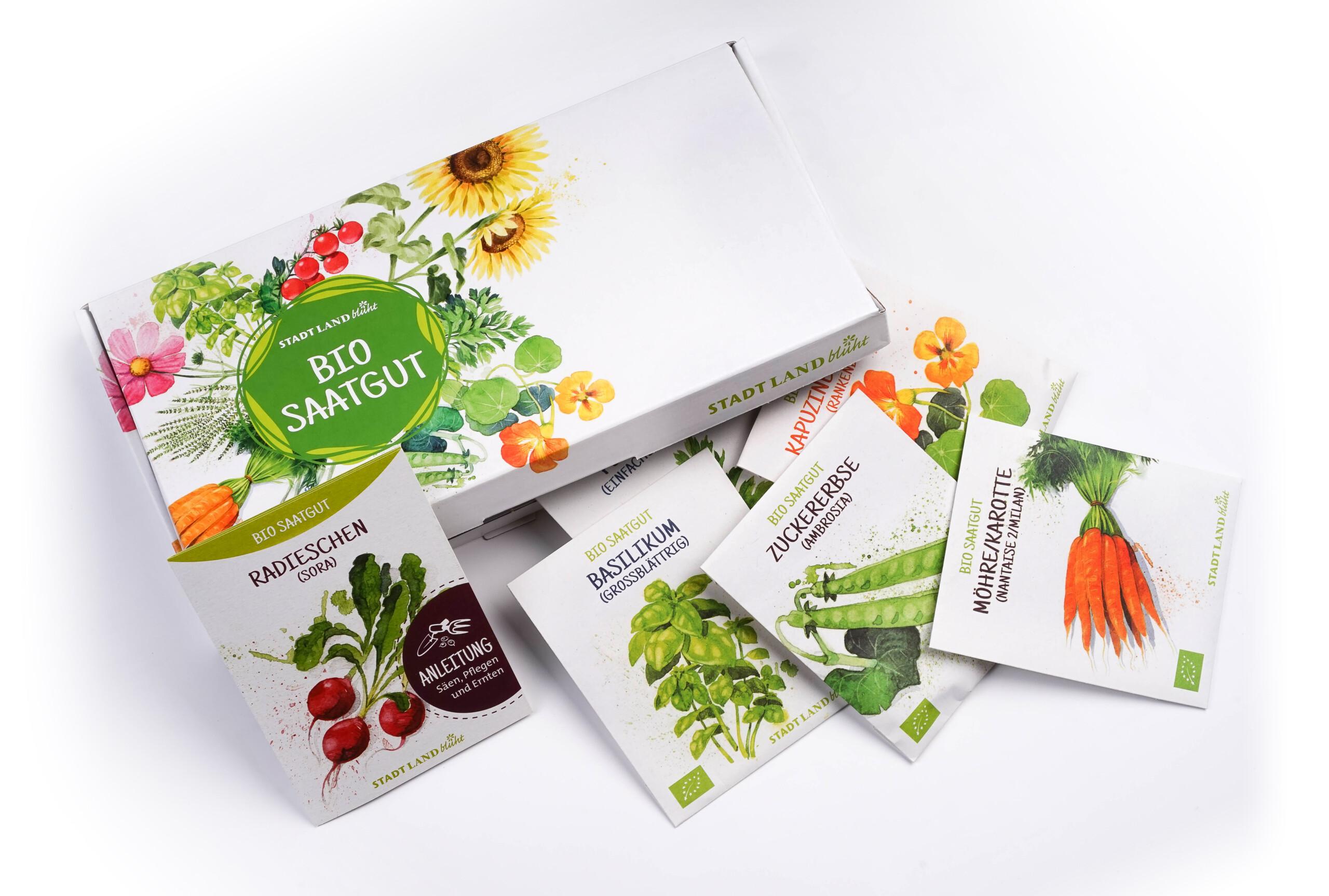 Bio Saatgut Abo Grüne Box
