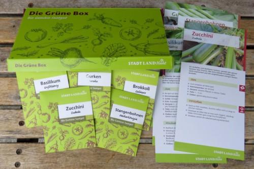 Die Grüne Box - 5 x Bio Samen