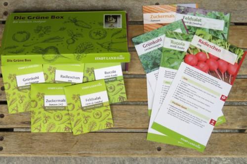 Bio Gemüsesamen in der Grünen Box. Nr. 4 2017