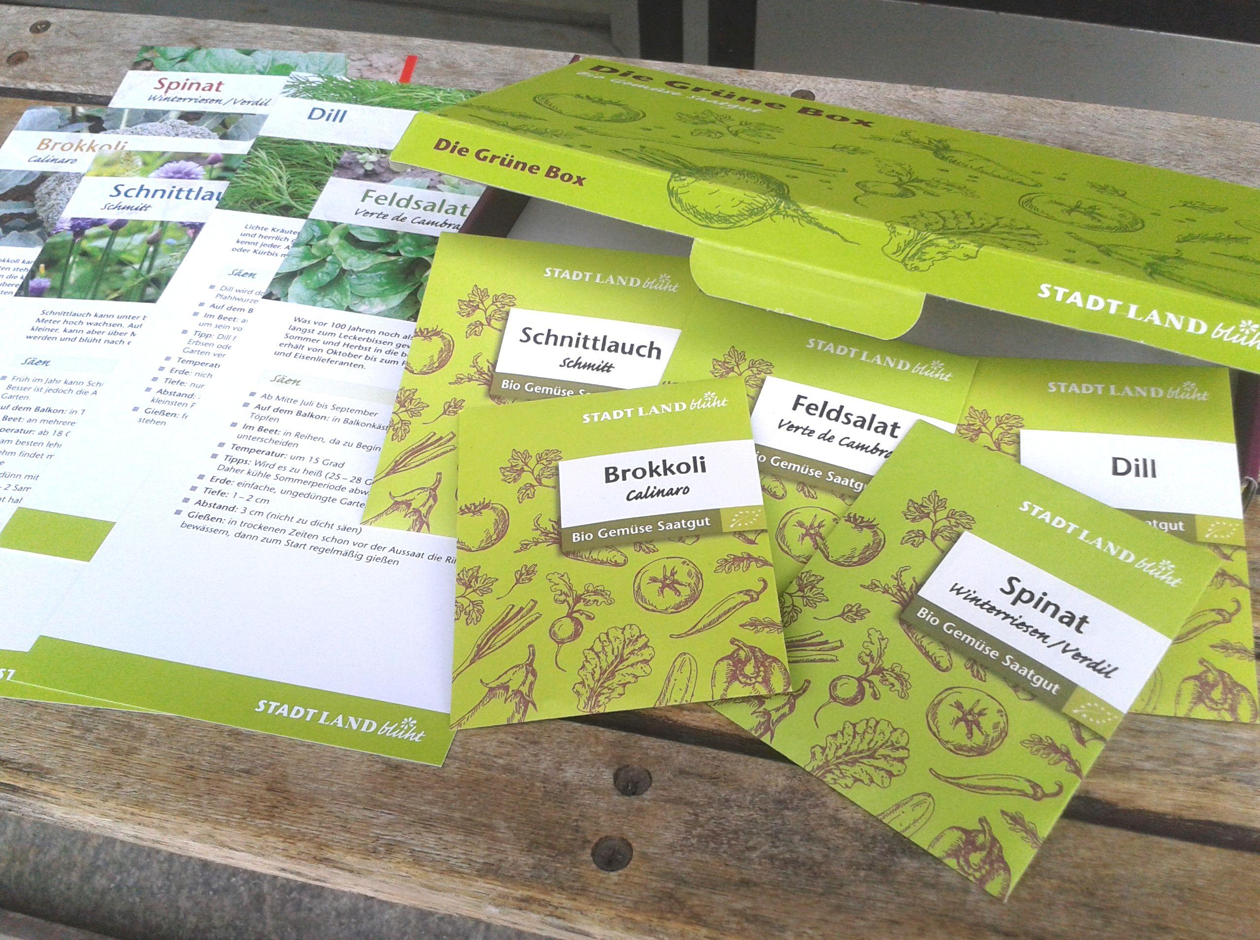 Gemüsesamen für Hochbeete, Garten und Balkon