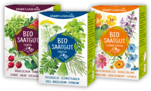 Bio Saatgut Boxen von STADT LAND blüht