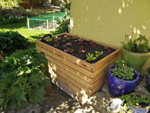 Hochbeet Gartenfrosch 140x80x80