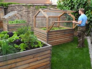 Hochbeet mit Treibhaus-Aufsatz 180 x 120 x 80 von Gartenfrosch