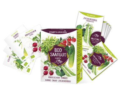 Gemüse anbauen - Bio Saatgut bei dm