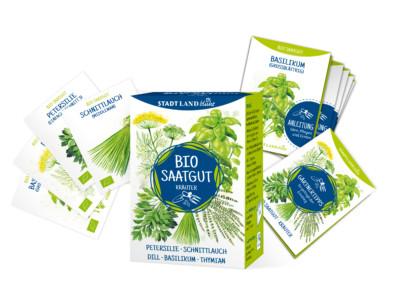 Bio Saatgutbox Kräuter