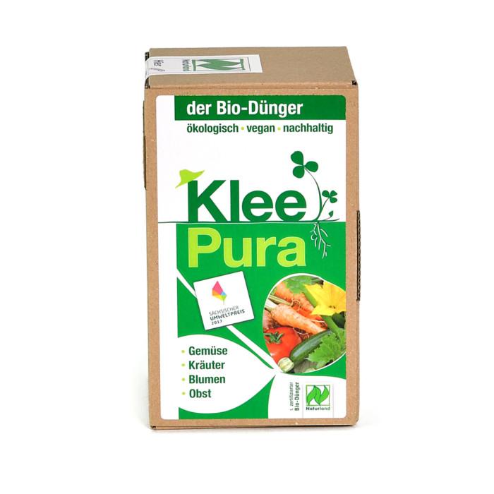 KleePura veganer Bio-Dünger für Balkon, Garten und Hochbeet