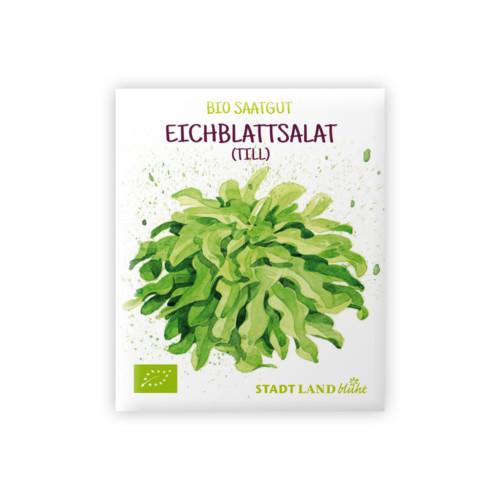 Bio Saatgut Eichblattsalat Till.