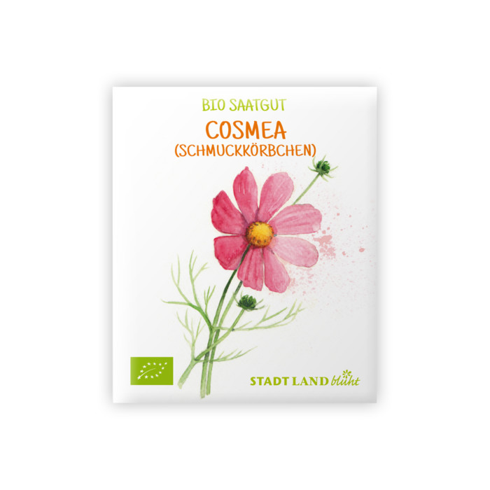Bio Saatgut Cosmea (Schmuckkörbchen)