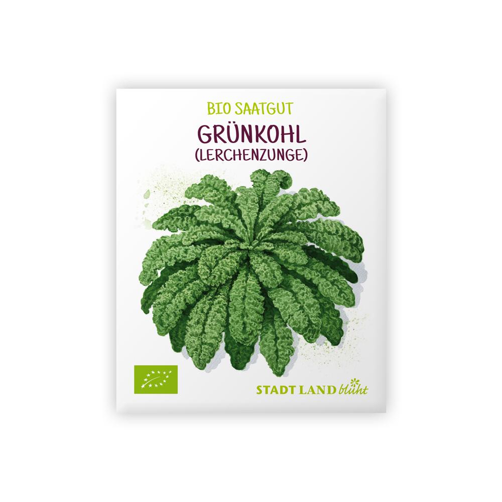 Grünkohl Samen bio Lerchenzunge