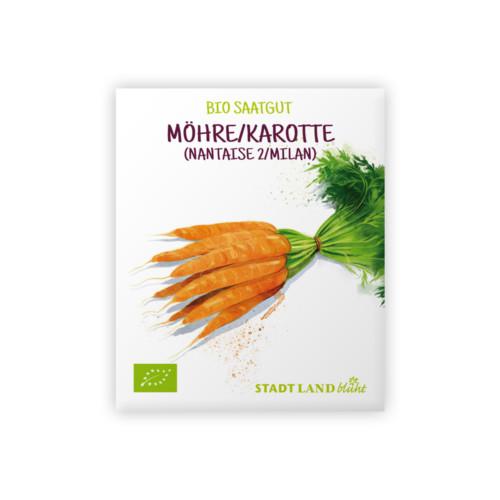 Bio Samen Möhren-Karotten