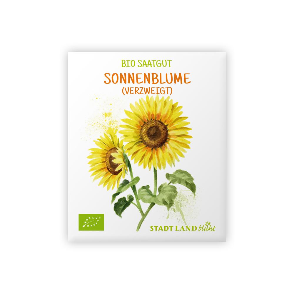 Samen Sonnenblumen bio verzweigt