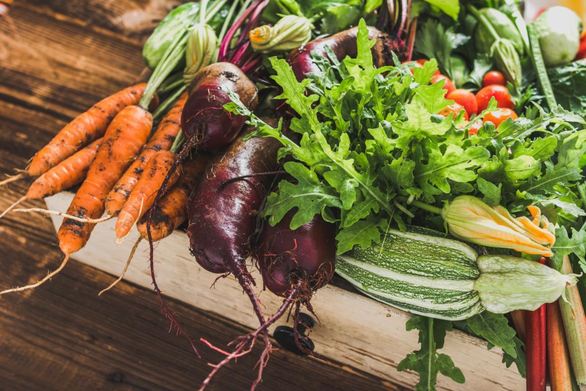 Neue Gemüsesorten ausprobieren